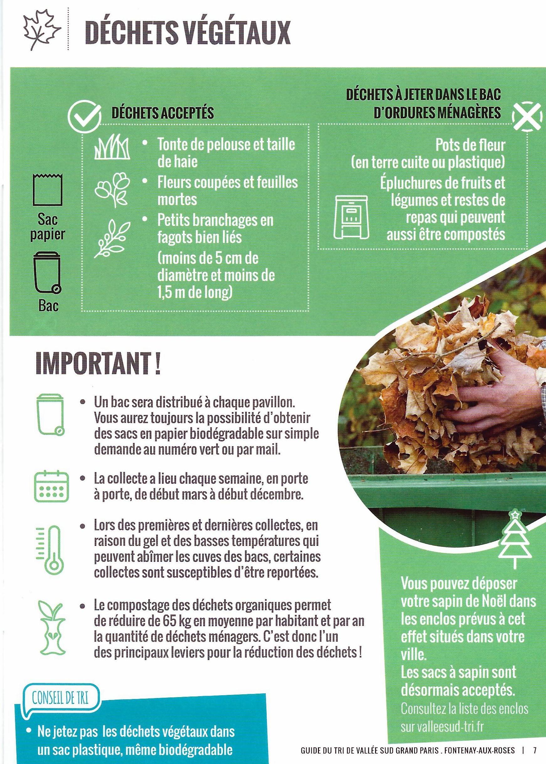 déchets liste verte